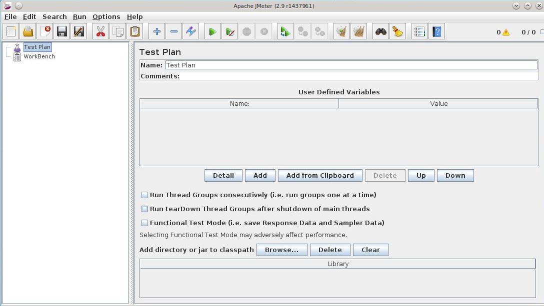 Нагрузочное тестирование сервера с помощью Apache jMeter