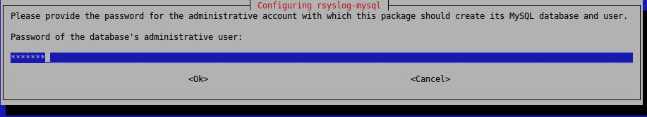 Установка rsyslog-mysql
