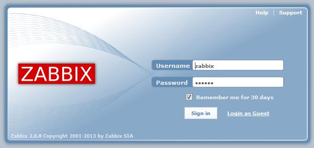 Установка Zabbix на CentOS: веб-интерфейс