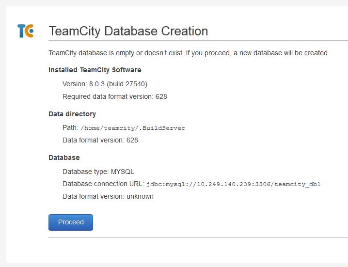 TeamCity: миграция базы данных с HSQLDB на MySQL