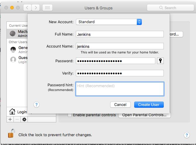 Jenkins: macOS slave агент через Java Web Start