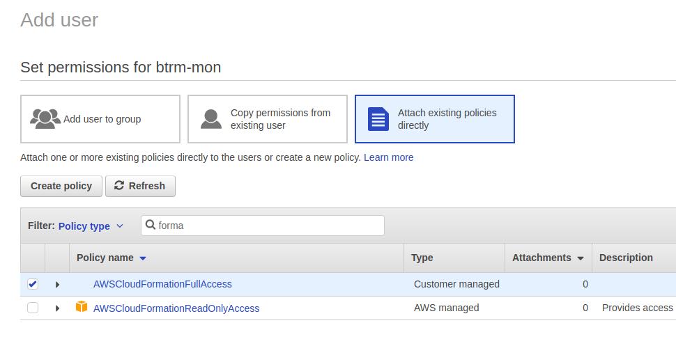 AWS: создание стека в AWS — bash-скрипт и CloudFormation шаблон