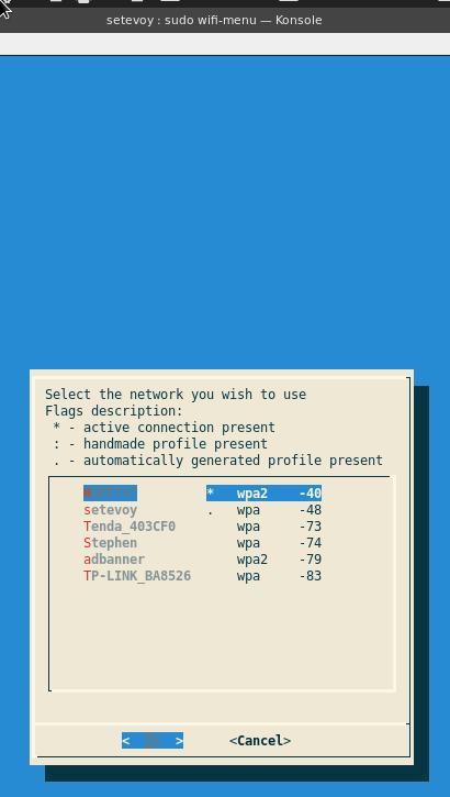Linux: настройка WiFi с помощью netctl и wifi-menu на Arch Linux