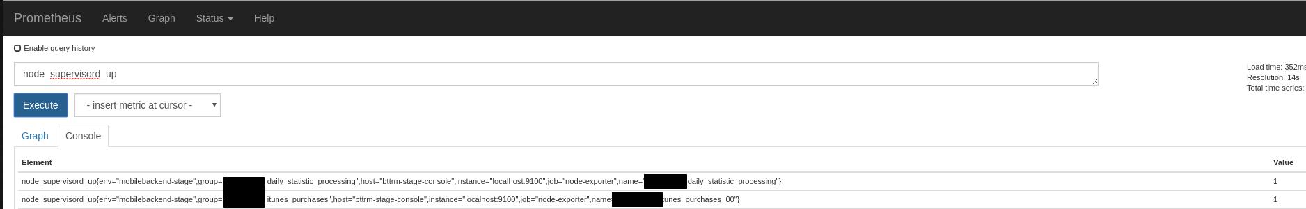 Prometheus: node_exporter — мониторинг supervisord