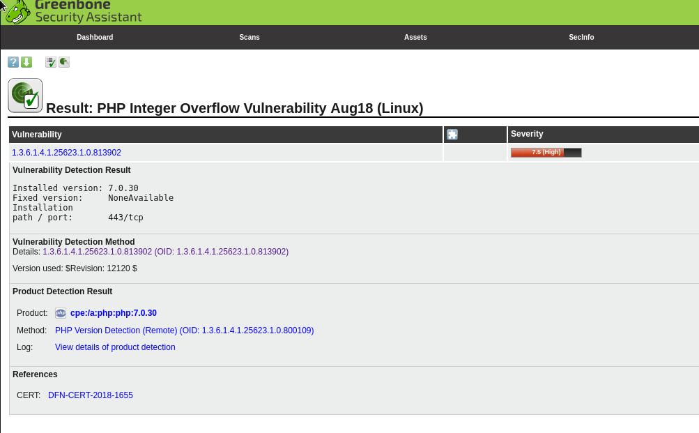 OpenVAS: установка, запуск