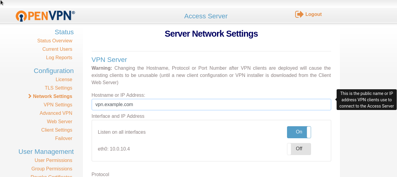OpenVPN: SSL and hostname configuration - DEV Community 👩 💻👨 💻