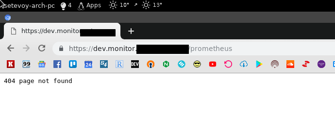 Prometheus: RTFM blog monitoring set up with Ansible