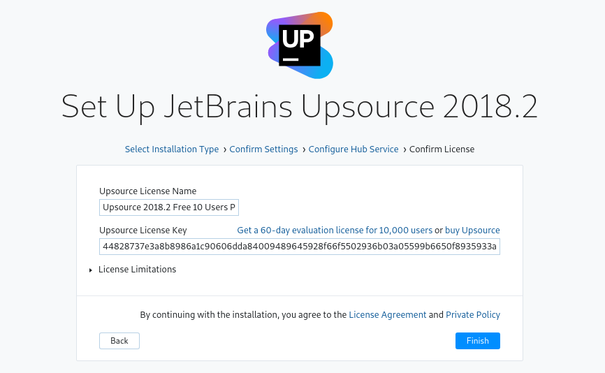 JetBrains Upsource: installation, configuration on Linux