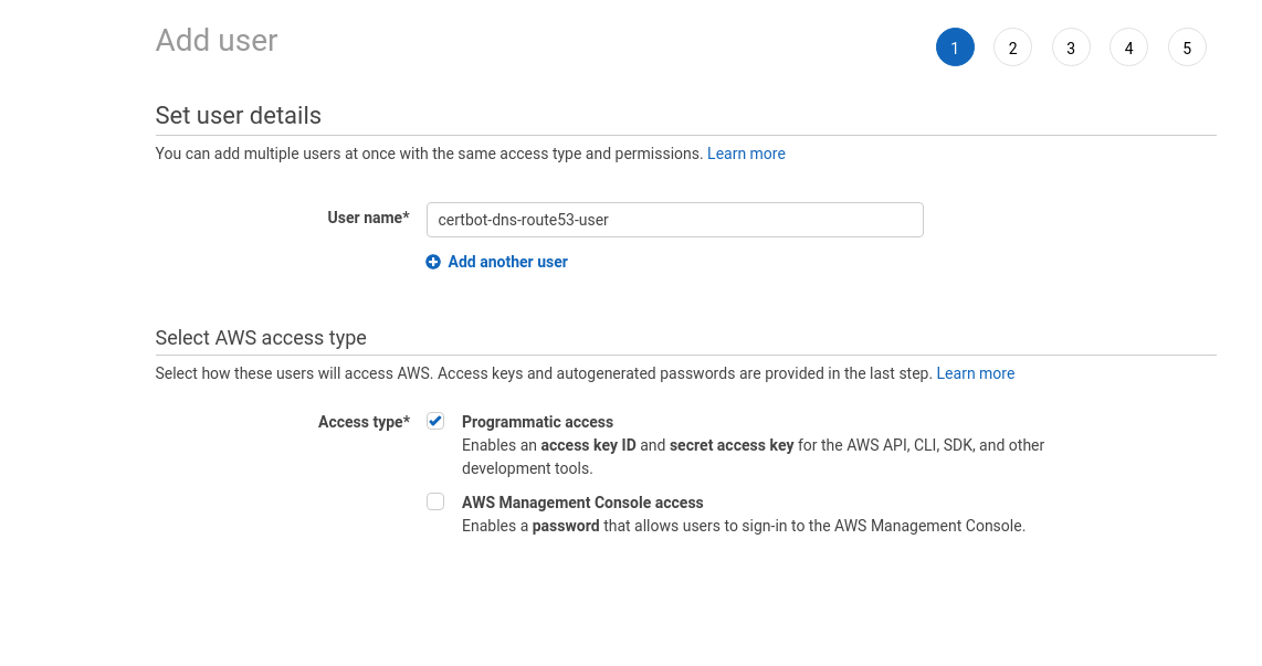 OpenVPN: Let's Encrypt DNS verification on AWS Route53 and