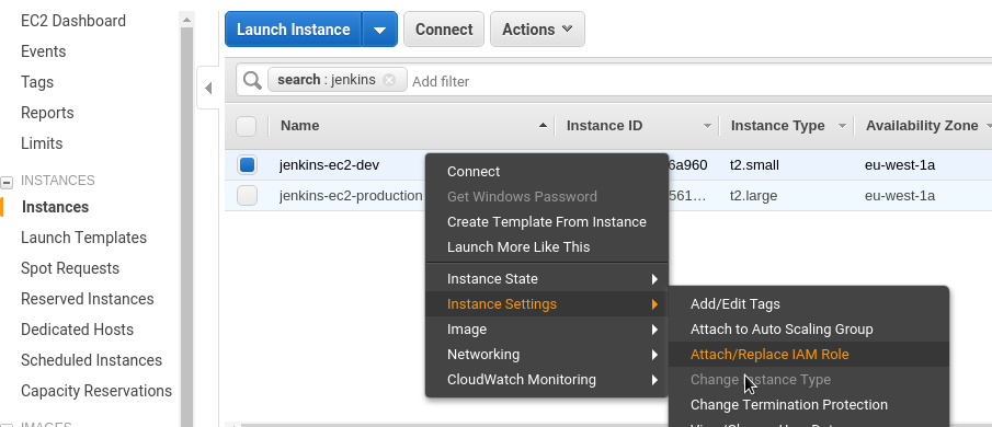 AWS: IAM users keys rotation, EC2 IAM Roles and Jenkins