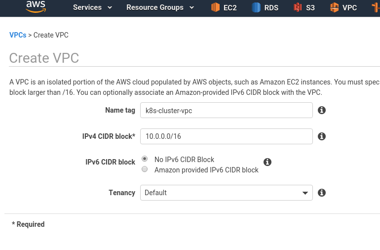 Kubernetes: part 2 – a cluster set up on AWS with AWS cloud