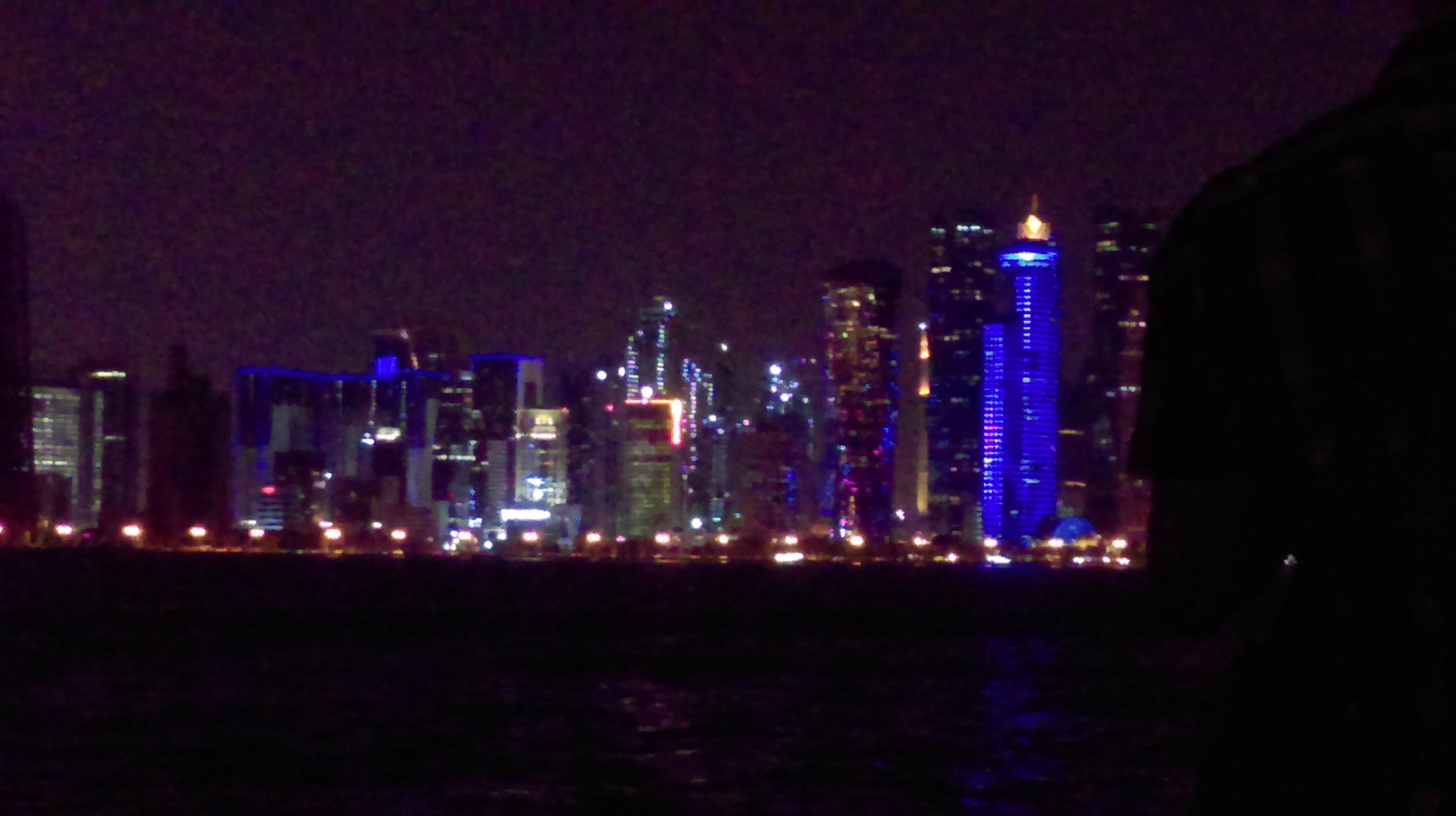 Центр Дохи, бизнес-часть.