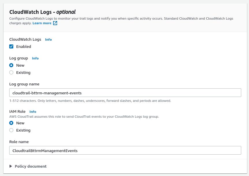 AWS: CloudTrail - обзор и интеграция с CloudWatch и Opsgenie